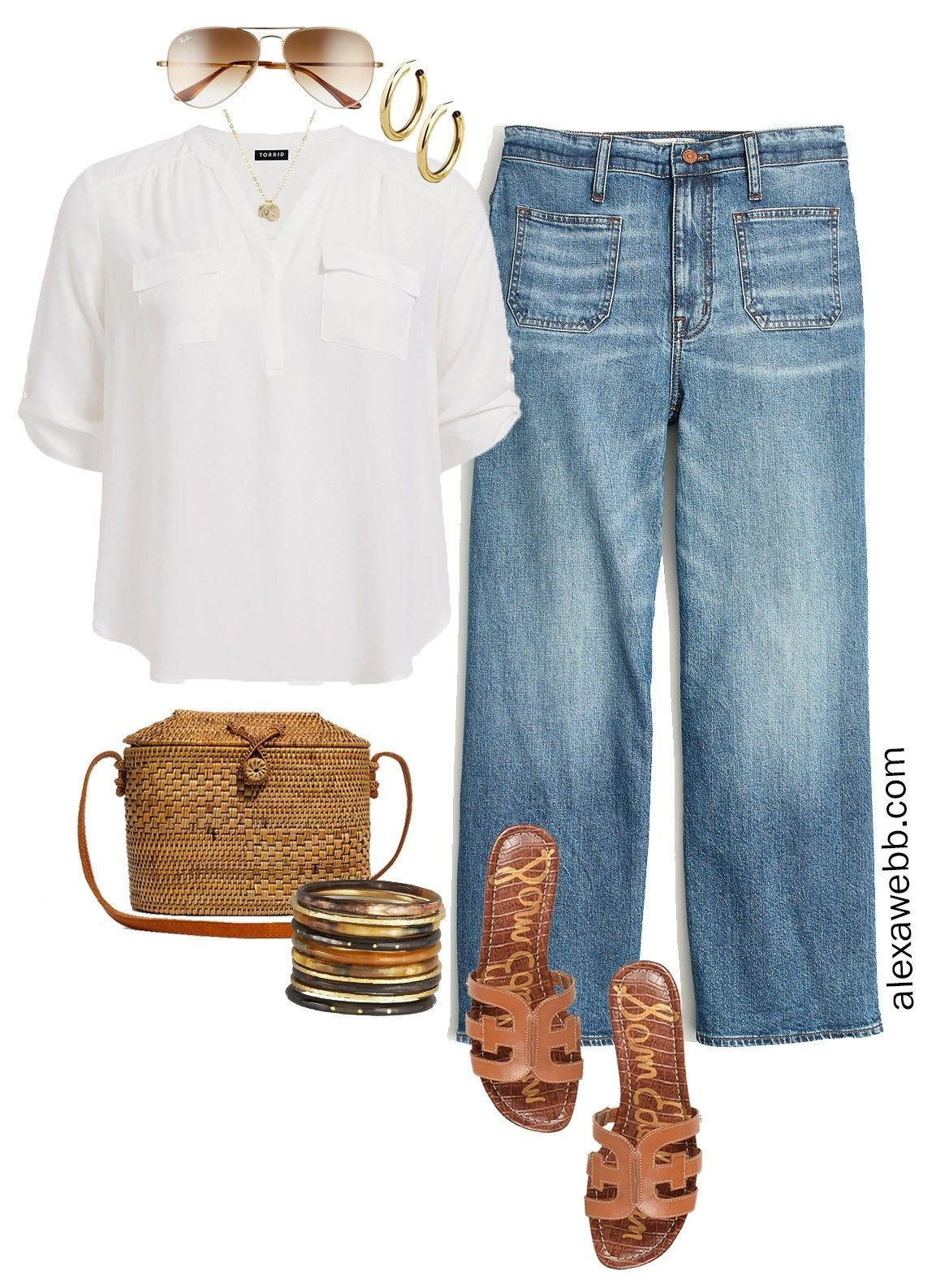 Photo of Plus Size Summer Jeans Outfit Ideas – Alexa Webb