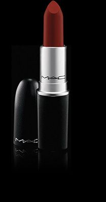 MAC Cosmetics: Lipstick in Studded Kiss, Hang-Up, Smoked Purple, Lady Bug, La Vie En Rogue, Chill, Cockney, Fusion Pink, Show Orchid, Relentlessly Red, Flat Out Fabulous, Heroine, Russian Red, MAC Red, Matte Royal, Instigator, and Dangerous