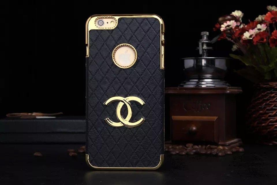coque/étui Chanel d'or pour iphone6 / 6 plus / 5/5S SAMSUNG GALAXY ...