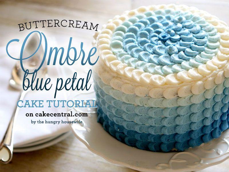 buttercream frosting cake design - Google Search