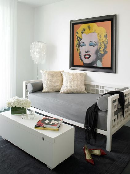 How To Dress Your Daybed Living Room Design Decor Living Room White Room Decor