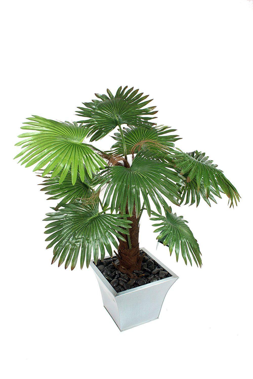 Closer2Nature Artificial 4ft Windmill Fan Palm Tree Portofino Planter Not Included