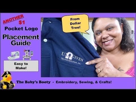 Polo shirt pocket logo placement guide for diy from the