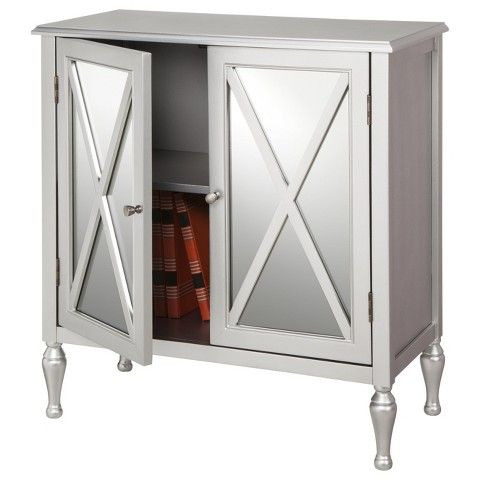 Hollywood Mirrored Accent Cabinet Hollywood Mirror Half Baths And