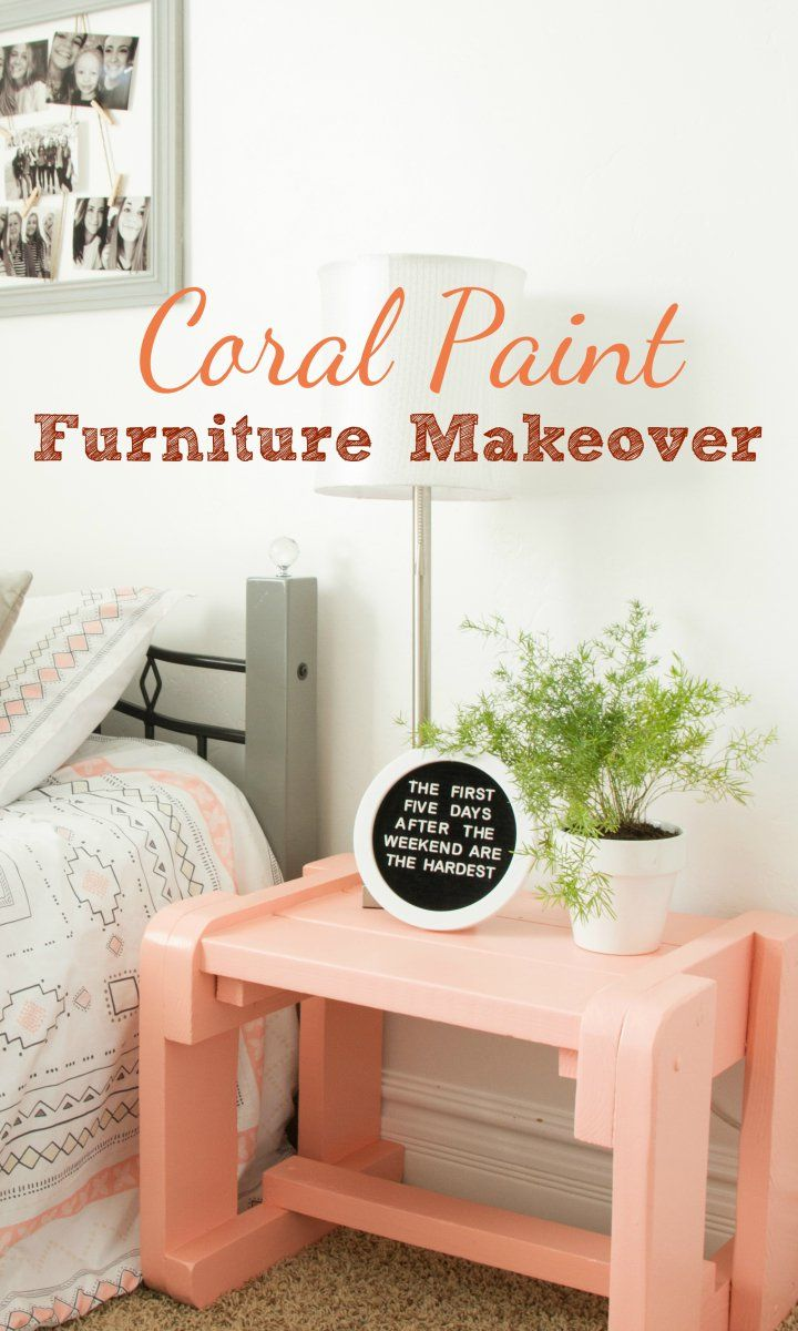 C Painted Side Table Made Easy With The Super Finish Max