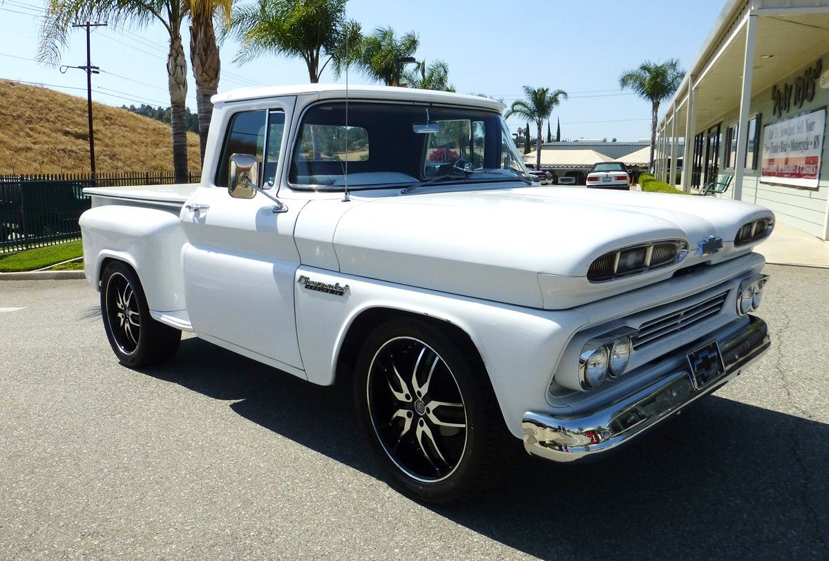 1960 chevrolet c10 stepside short bed pick up automotion truckin 1966 Chevy  Truck Heater Wiring GM Truck Wiring Diagrams