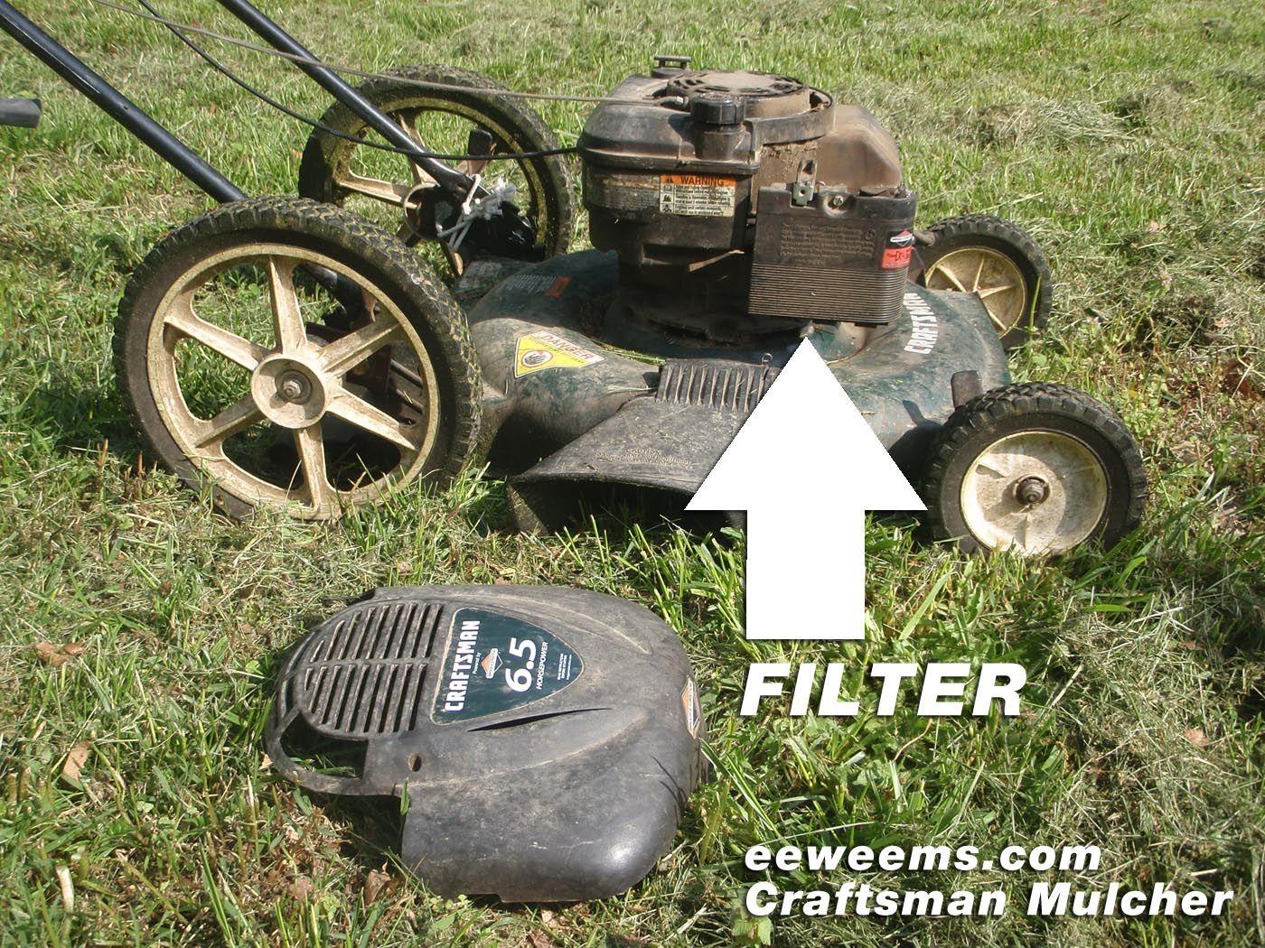 Craftsman 917 Mower Mulcher 22 Air Filter Mower Craftsman Lawn Mowers