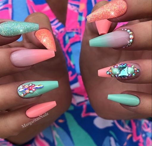 Nail Art From The Nails Magazine Nail Art Gallery Gel Ombre Nail