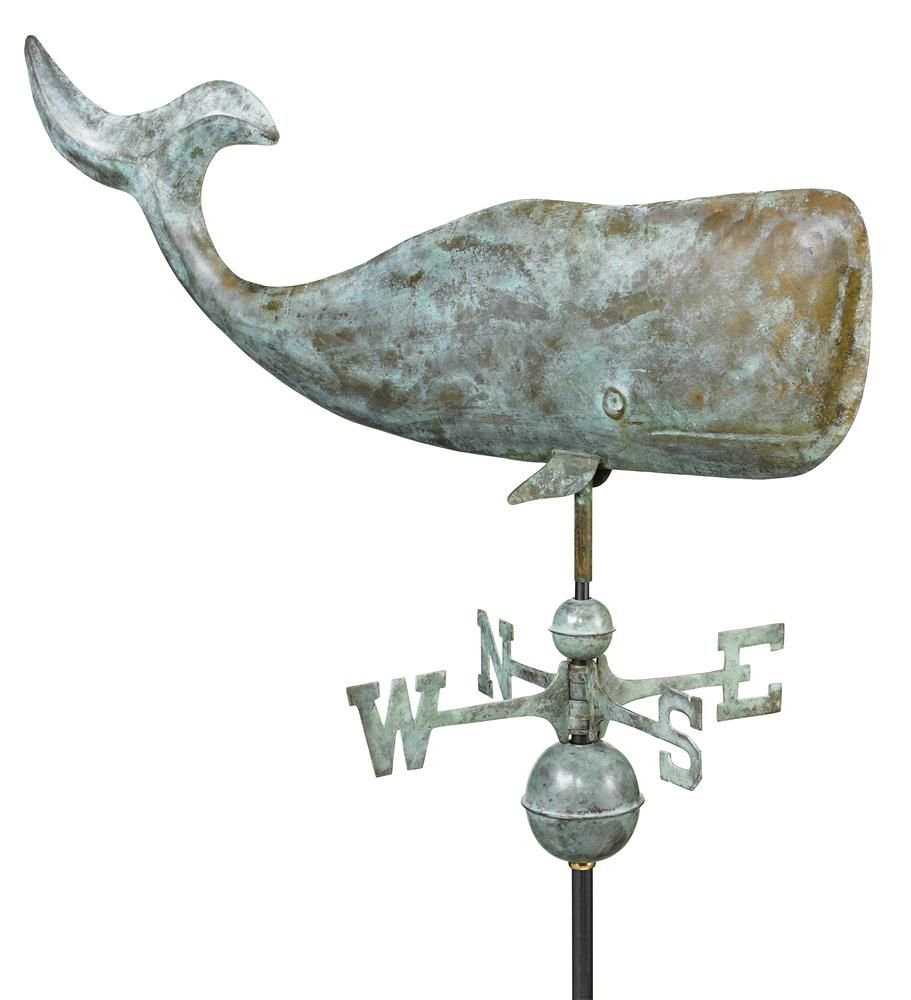 Vintage Weathervanes On Ebay Whale Aluminum Weathervane