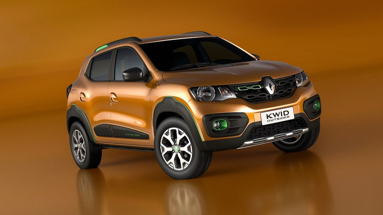 Production Renault Kwid Outsider To Be Introduced In January 2019