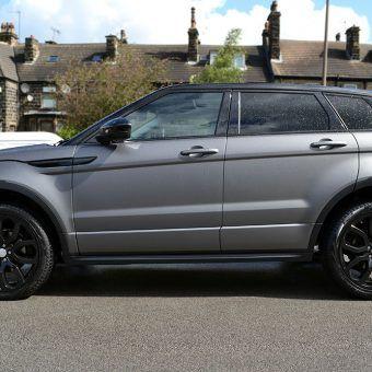 Photo of Matte Grey Metallic Range Rover Evoque – Reforma UK