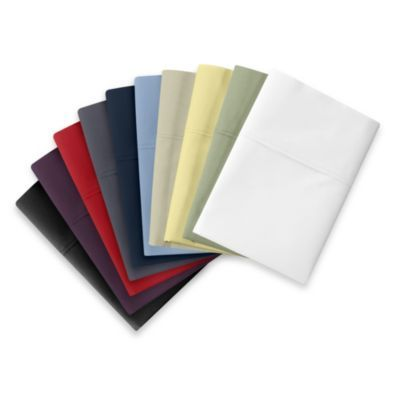 Buy Wamsutta® Cool Touch Percale Twin XL Fitted Sheet in White