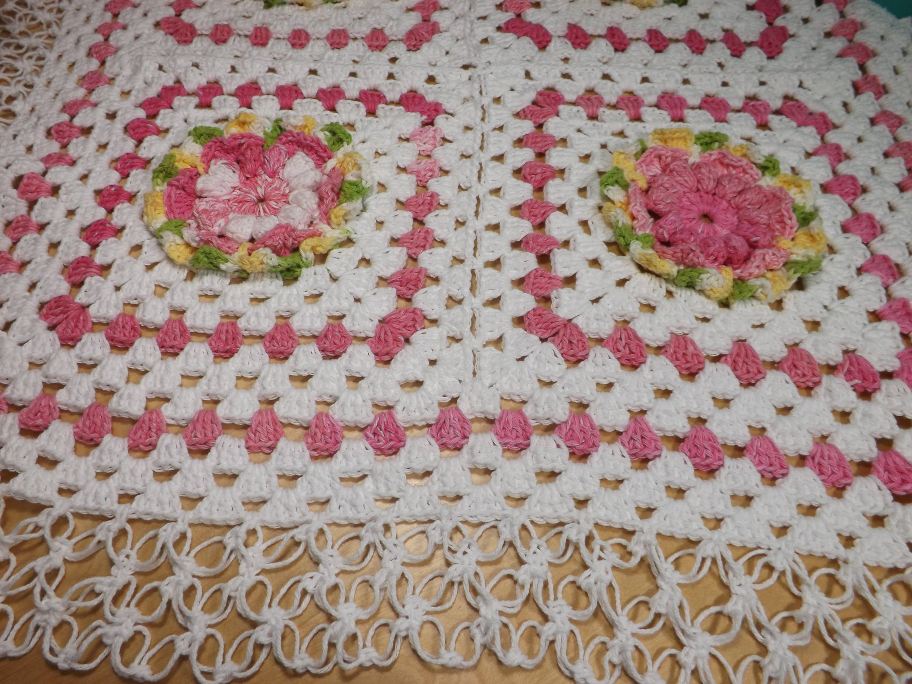 Crochet granny squares baby blanket part 2 - with Ruby Stedman ...