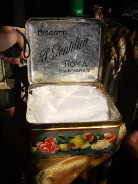 Scatola di latta litografia soc an arrigo a milano for Ebay annunci milano arredamento
