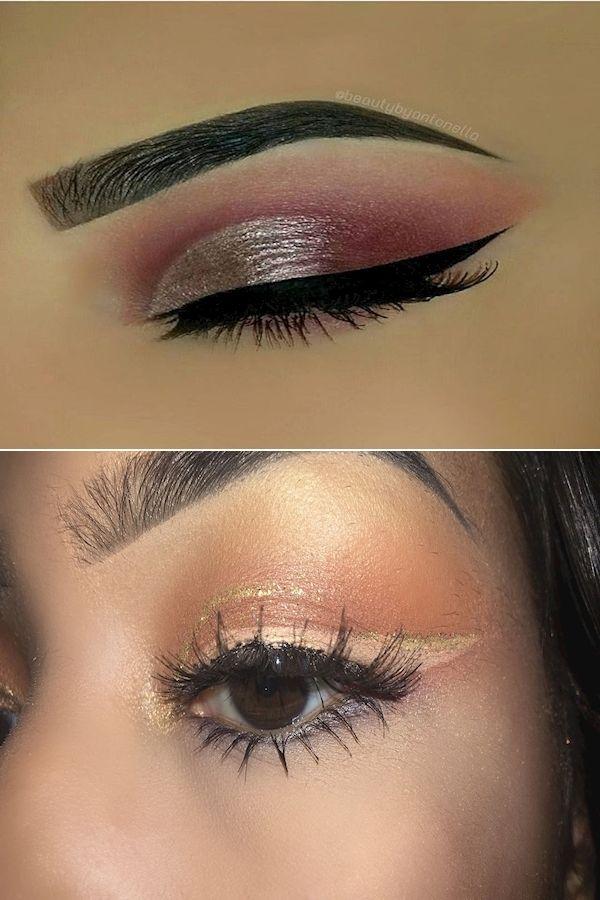 eyeliner eyeshadow thick cream sparkly waterproof