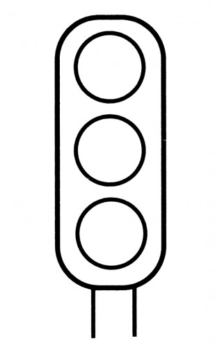 Traffic Signal Clipart Black And White Clip Art Library Traffic Light Coloring Pages Stop Light