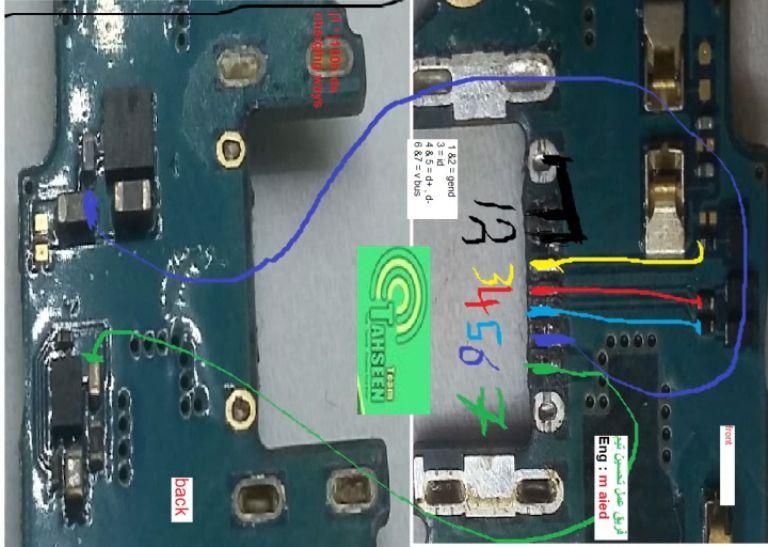 Samsung Galaxy J1 J100h Charging Solution Jumper Problem