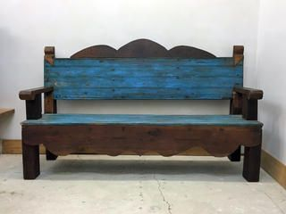Fabulous Recycled Mexican Bench In 2019 Rustic Furniture Mexican Ocoug Best Dining Table And Chair Ideas Images Ocougorg