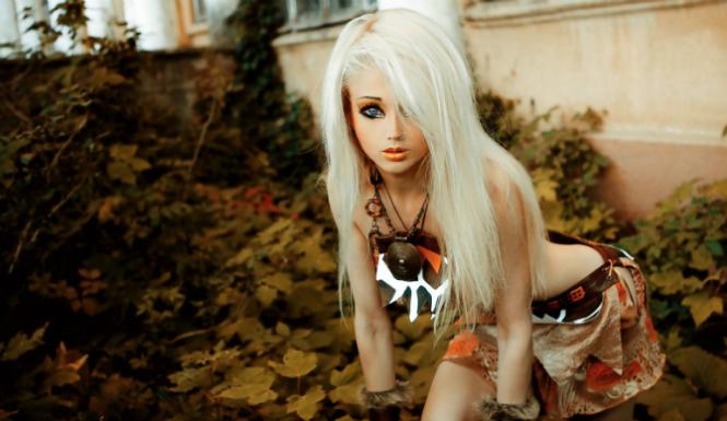 Doll valeria lukyanova human barbie