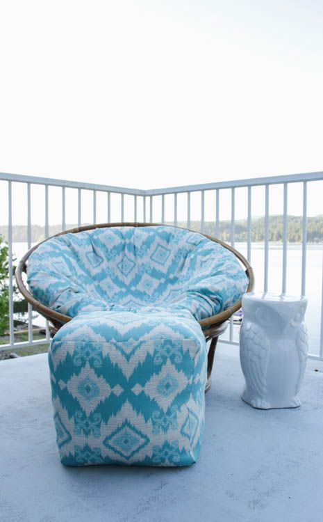 Groovy How To Sew A Diy Papasan Chair Cover Front Door Diy Pouf Beatyapartments Chair Design Images Beatyapartmentscom