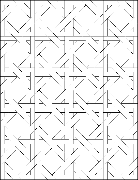 Quilt Pattern Coloring Pages #5