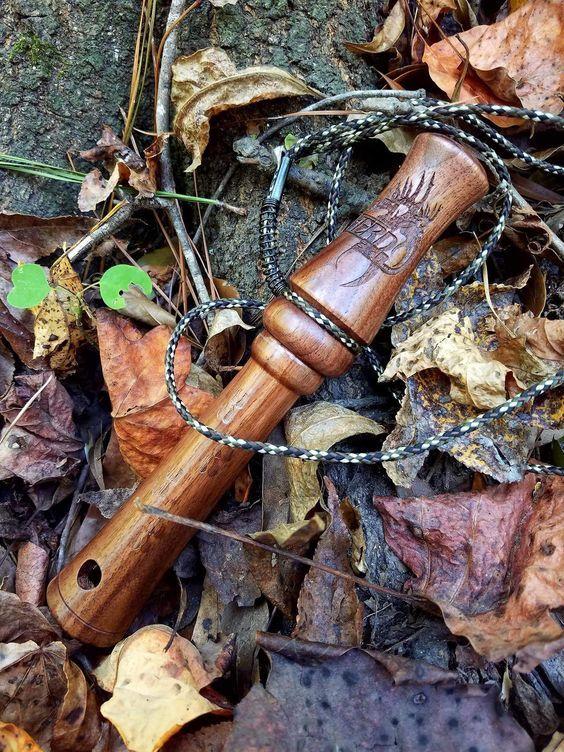 Hardwood Buck Grunt Call Hand Made In The Usa Hunter Skills And