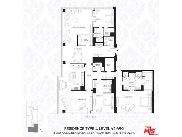 The Ritz Carlton Residences At La Live Downtown Los Angeles Unit No