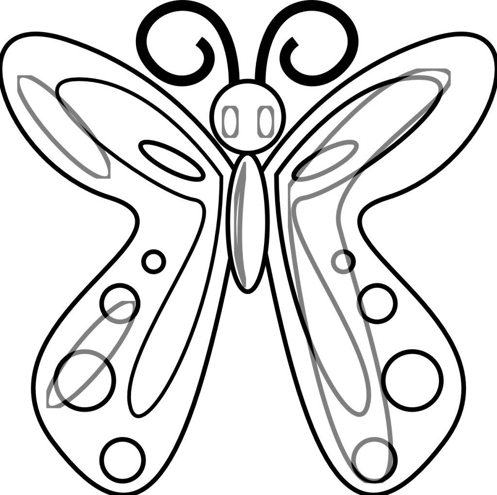 Adult Butterfly Coloring Pages Butterfly Coloring Page Insect