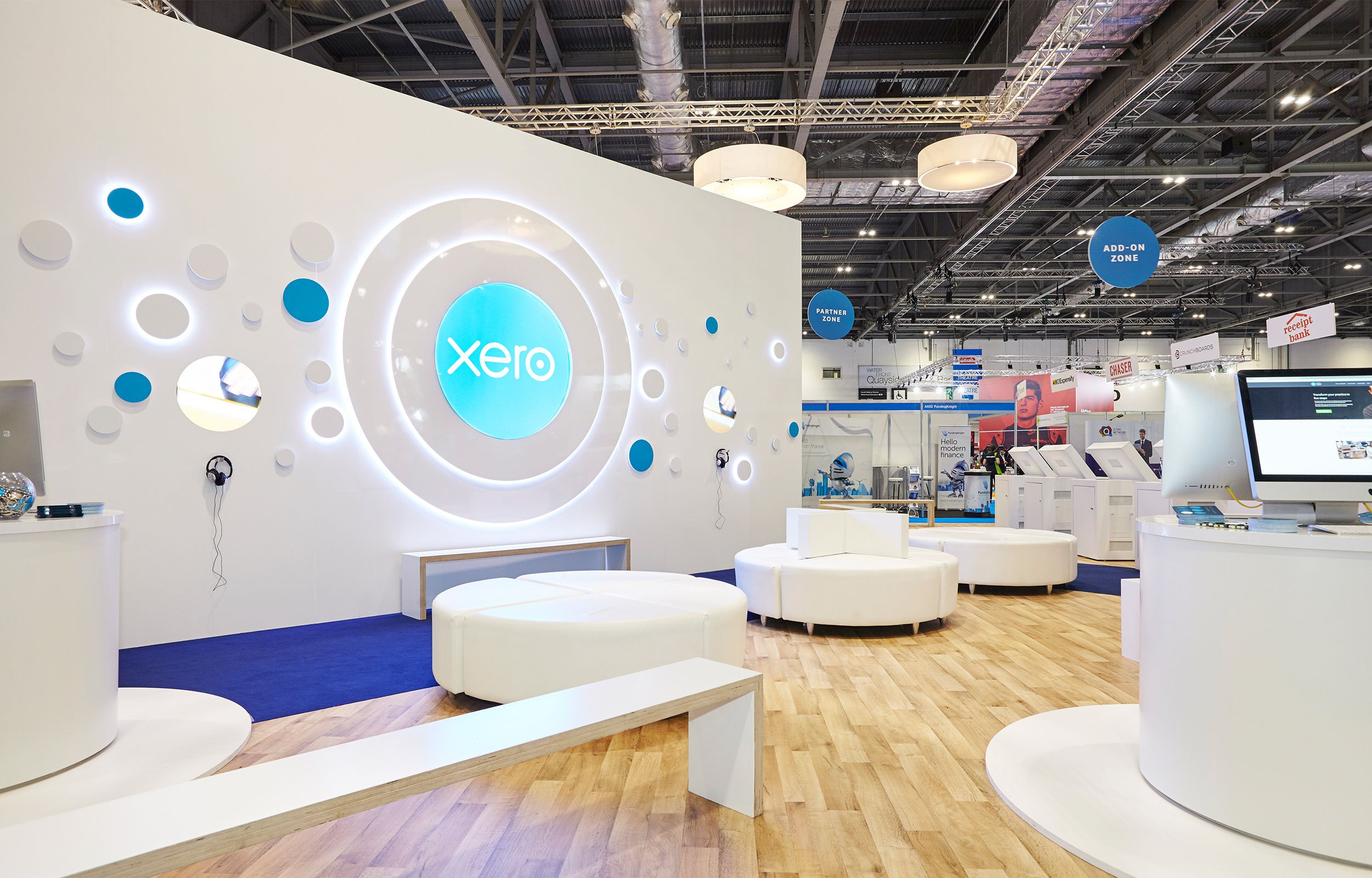 Freelance Exhibition Stand Design : Xero exhibition stand — megan wilson dea styles of