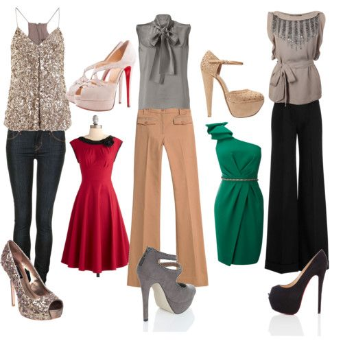 Great Christmas Party Outfit Ideas. - Fashion Talk: Christmas Party Outfit Ideas Fashion: Complete Looks
