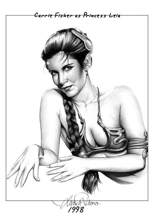 Star Wars - Leia Organa by Laura Racero *