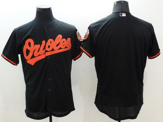 2016 MLB FLEXBASE Baltimore Orioles 10 Jones black jerseys