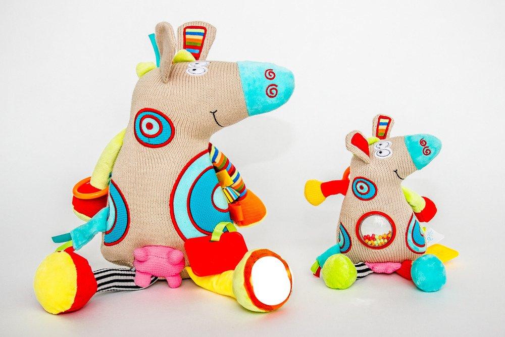 Zabawka Sensoryczna Maly Cielaczek Dolce Dinosaur Stuffed Animal Toys Dinosaur