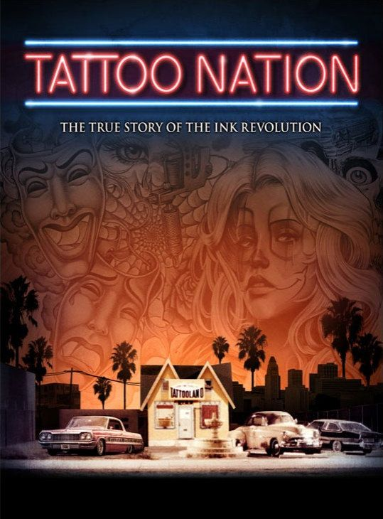 It's a history lesson that you'll actually want to pay attention to. Be sure to check out Tattoo Nation when it makes its world network television premiere on March 11 at 8 pm (7 C) on Spike TV. #InkedMagazine #TattooNation #inked #tattoos #tattoo #documentary #history #blackandgrey #tattooing #SpikeTV
