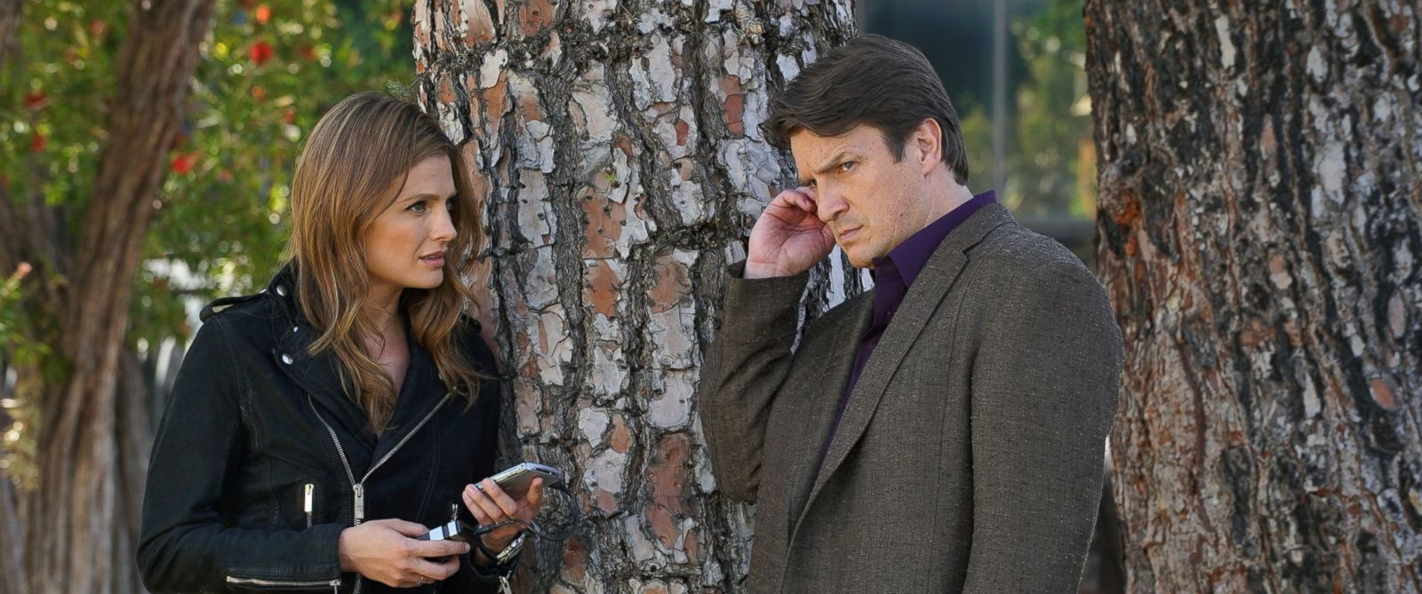 Castle Season 2 Episode 16 Watch Online Nathan Fillion And Stana Katic React To Castle Cancellation