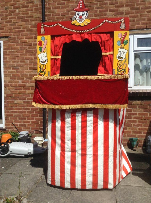 Punch and Judy Booth For Sale in Warwick, Warwickshire