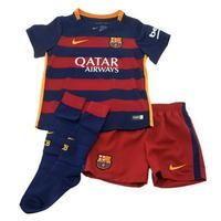 Nike Barcelona Home Kit 2015 2016 Mini