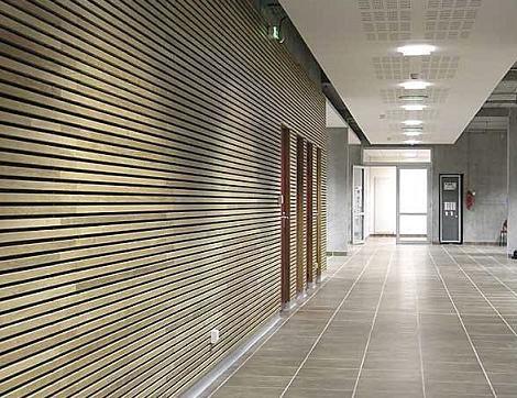 La madera es un material que puede tener muchos usos en el - Materiales para revestir paredes interiores ...
