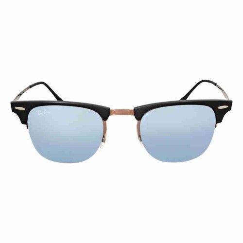 4c68eb7f3e Ray-Ban Clubmaster Light Ray 49MM Green Mirror Sunglasses RB8056 176 30 49