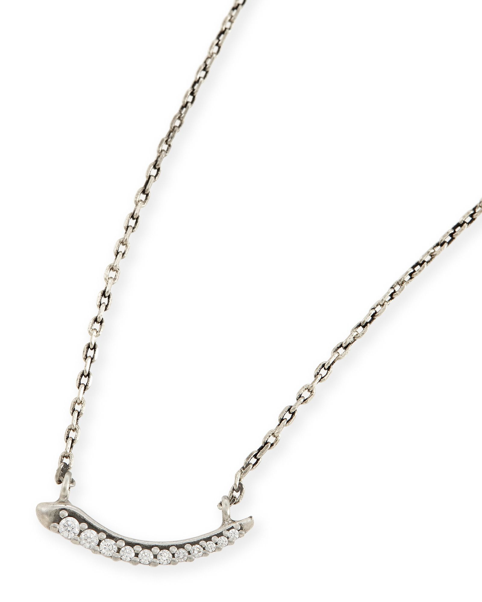 Whitlee pendant necklace in antique silver kendra scott jewelry