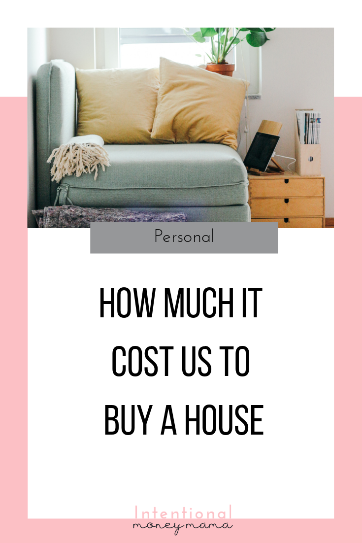 How Much It Really Costs To Buy A House Debt Free Living Saving Money Budget Budget Help