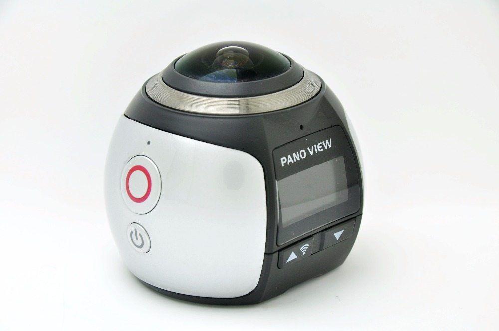 New V1 360 Camera 4k Wifi Mini Panoramic Camera 2448*2448