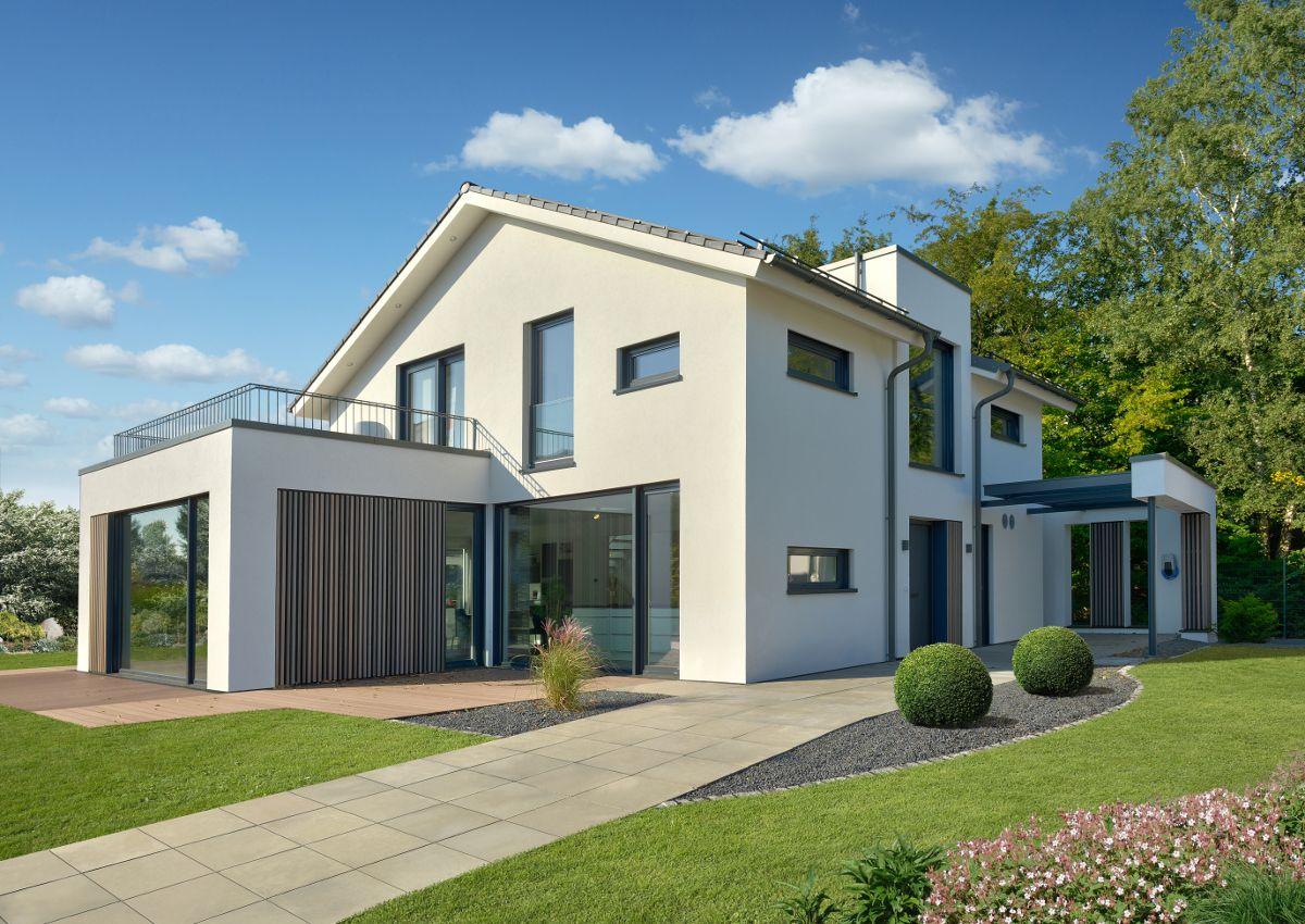 CONCEPT M 154 Musterhaus Hannover. #Musterhaus #Haus #Fertighaus #Hausbau #