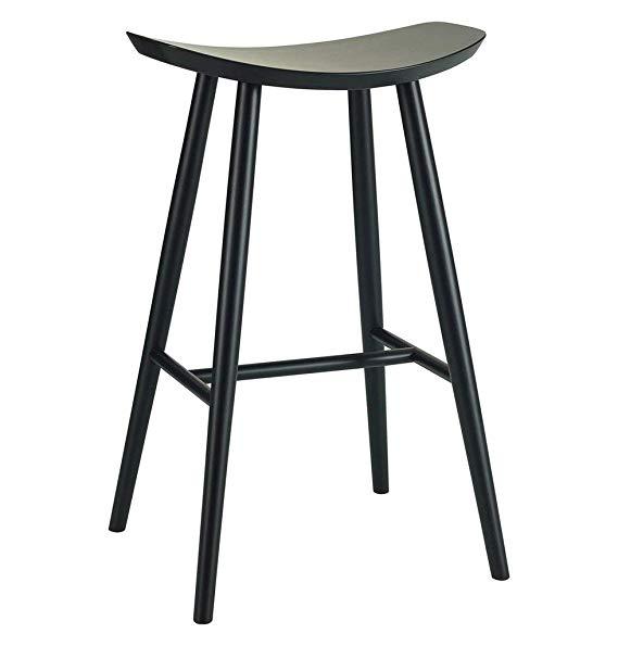 Pin By Katie Craig On House Ideas Kitchens Black Bar Stools Scandinavian Bar Stool Bar Stools