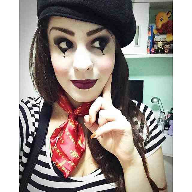 Pin by Ashley on costumes Pinterest Makeup art - simple halloween costumes ideas