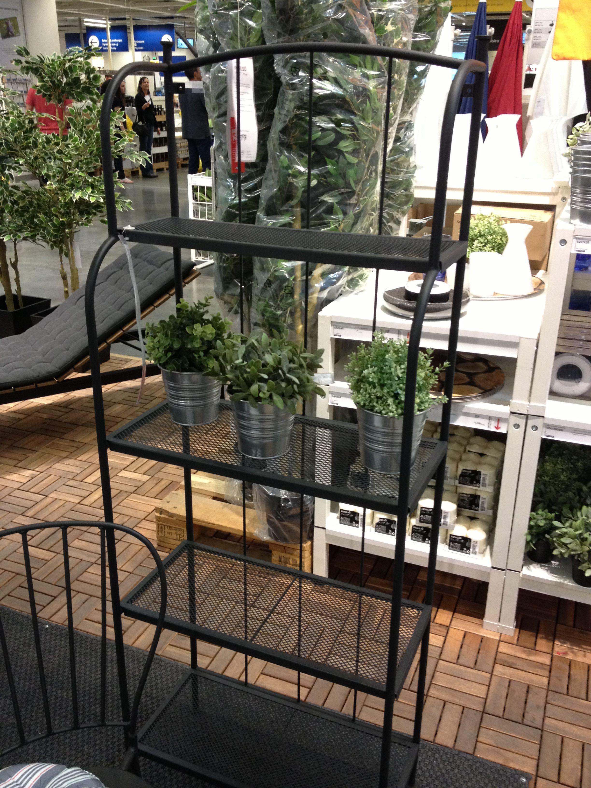 Bakers Rack/planting Rack: Ikea