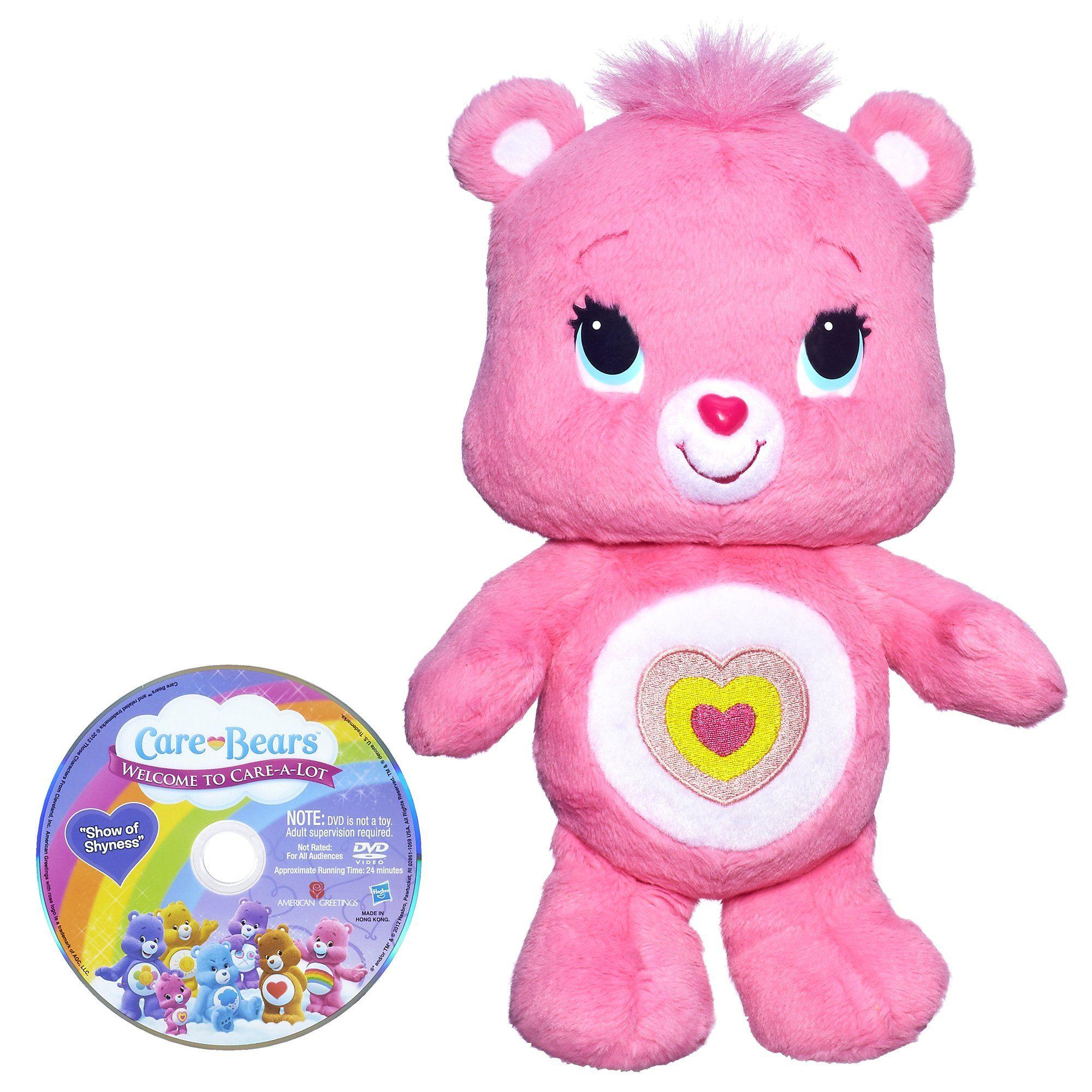 Message Recorder Stuffed Animals, Care Bears Wonderheart Bear Toy Care Bears Plush Teddy Bear Stuffed Animal Bear Toy