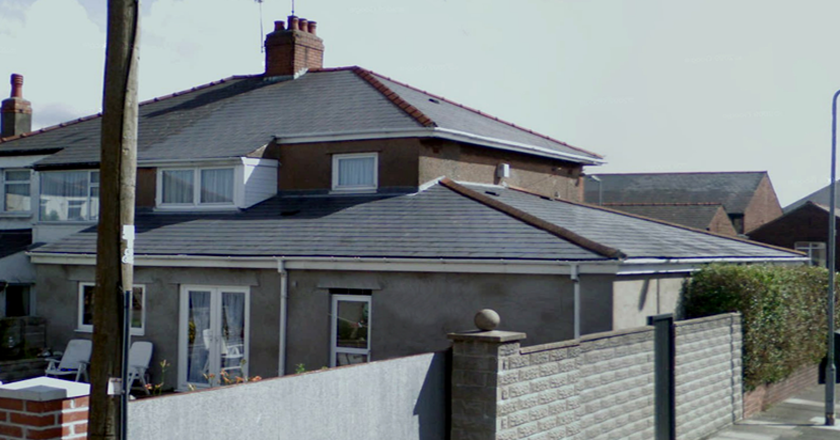 Flat Roof House Exterior Makeover