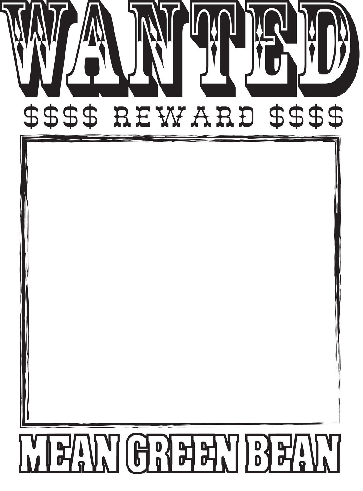 wanted poster template for word – Free Wanted Poster Template for Kids