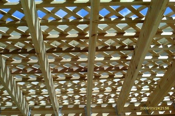 Deck Lattice Designs